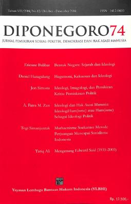 Diponegoro 74 Tahun VIII/2004/No.12/Oktober-Desember 2004