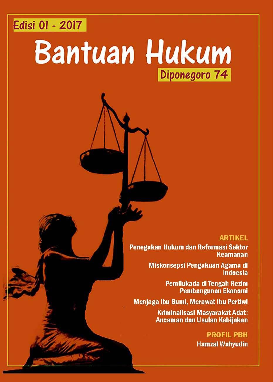 Buletin Bantuan Hukum Edisi 1 - 2018