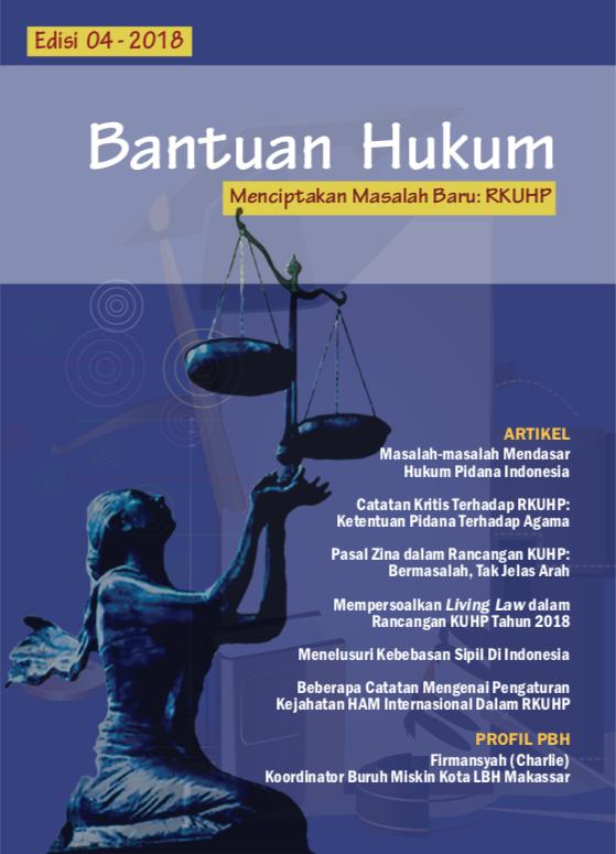 Buletin Bantuan Hukum edisi 4 - 2018