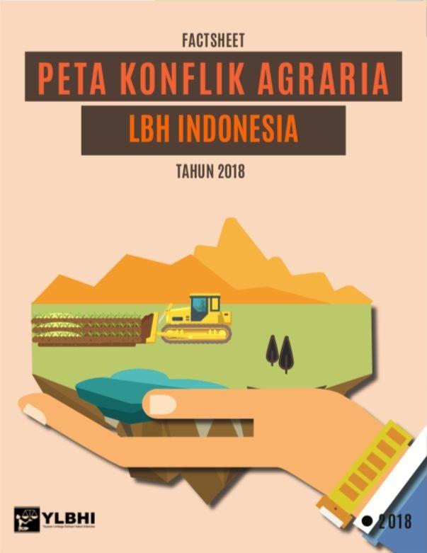 Peta Konflik Agraria LBH Indonesia Tahun 2018