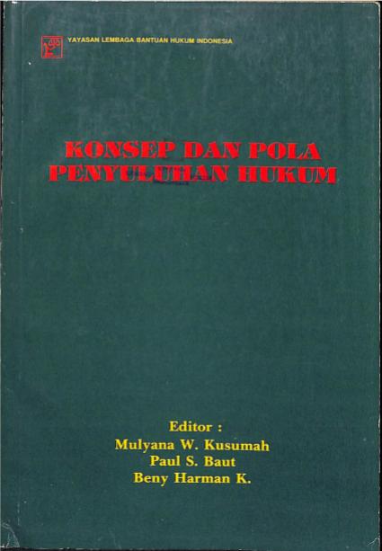 Konsep dan Pola Penyuluhan Hukum