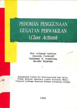 Pedoman Gugatan Perwakilan (Class Action)