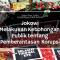 Jokowi Melakukan Kebohongan Publik tentang Pemberantasan Korupsi